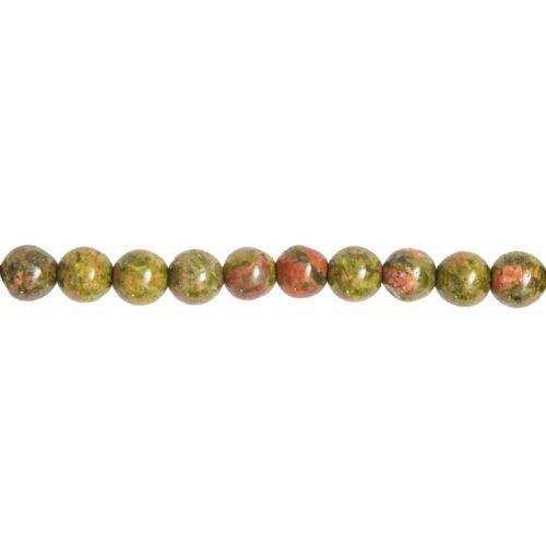 epidote-bead-strand-8mm