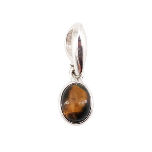Camille Tiger's Eye Pendant–Oval