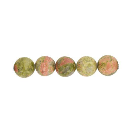 epidote-beads-10mm