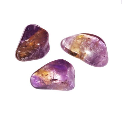 Ametrine Tumbled Stones