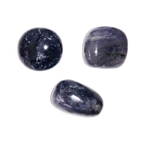 Cordierite tumbled stones
