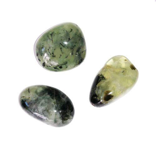 prehnite tumbled stones