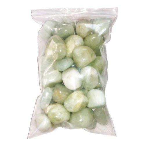 500 grs bag of Aquamarine Tumbled Stones