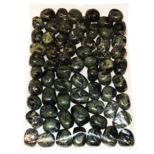 bag of Kambaba Jasper stones