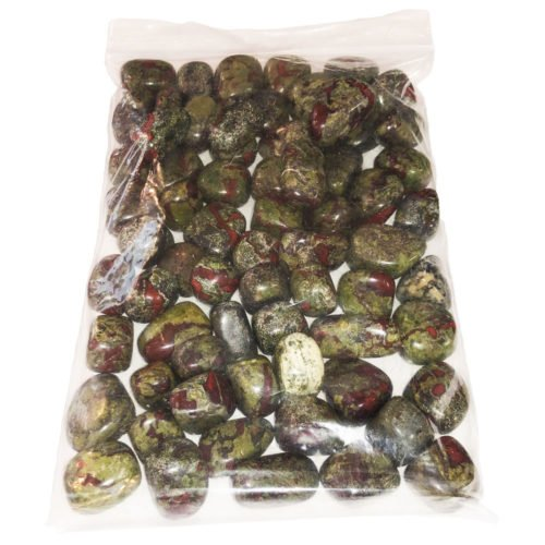 1 kg bag of jasper blood jasper stones