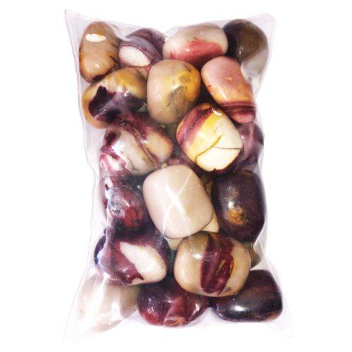 bag of Mookaite tumbled stones