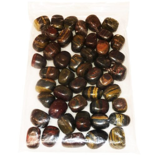 bag of tiger Iron Stones