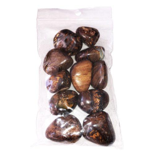 250 grs bag of Australian opal tumbled stones