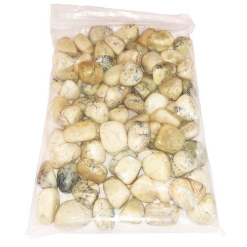 bag of White Opal stones