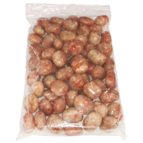 bag of Sunstone tumbled stones