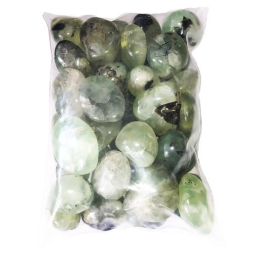bag of Prehnite stones