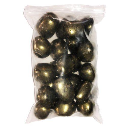 bag of Iron Pyrite stones