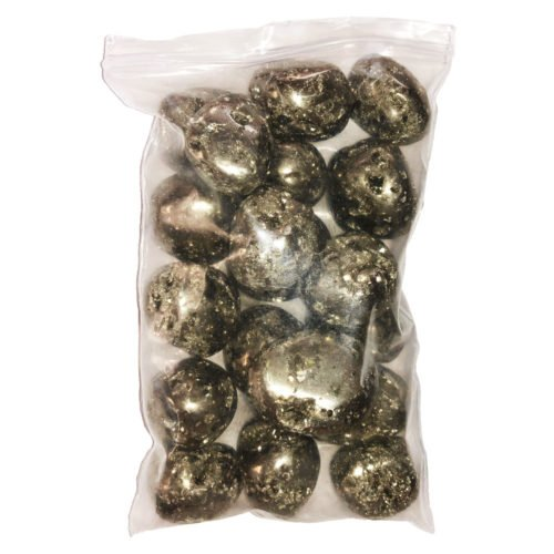 bag of Peruvian Pyrite stones