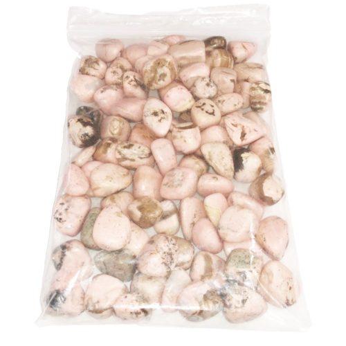 1kg bag of Rhodocrosite tumbled stones