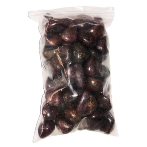 bag of ruby tumbled stones