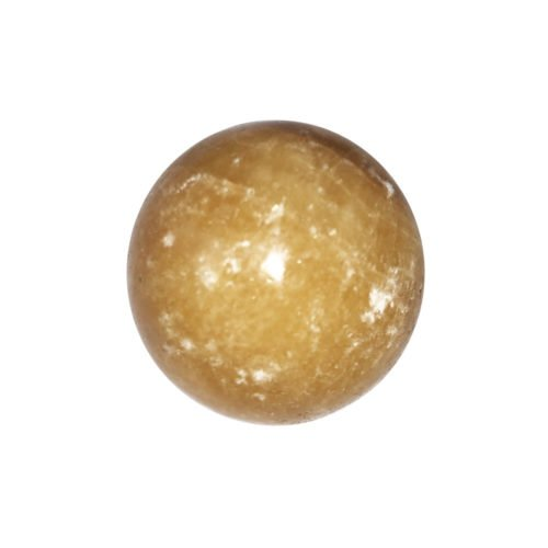 orange-calcite-sphere