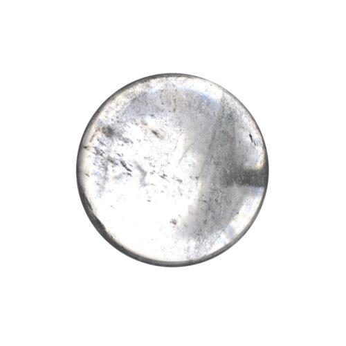 Rock crystal sphere 40 mm