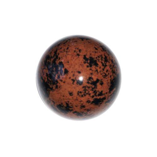 mahogany-obsidian-sphere-40mm