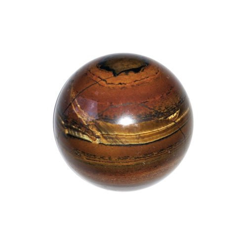 Tiger's Eye Sphere – 40 mm