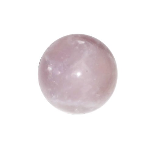 sphere quartz rose 40mm