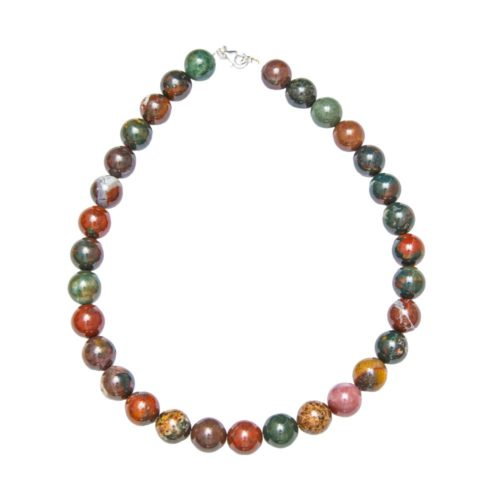 14mm-bloodstone-bead-necklace