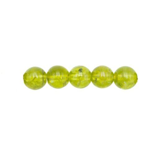 perle chrysolite 6mm