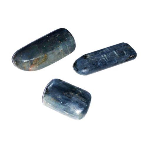 cyanite tumbled stone