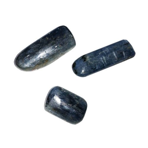 cyanite tumbled stone