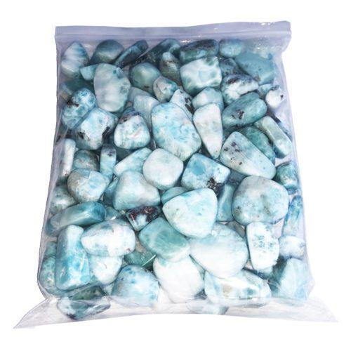 bag of Larimar stones