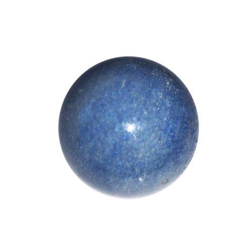 sphere quartz bleu 40mm