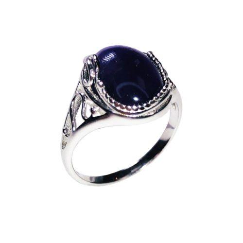 capucine amethyst 925 silver ring