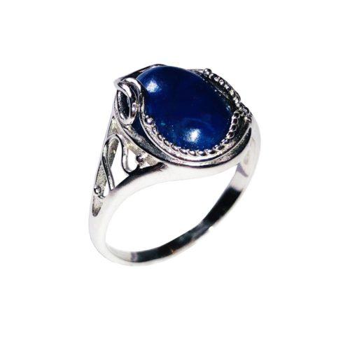 capucine lapis lazuli 925 silver ring