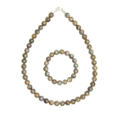 Spectrolite Jewellery Set - 10mm