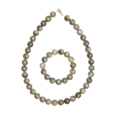 Spectrolite Jewellery Set - 12mm