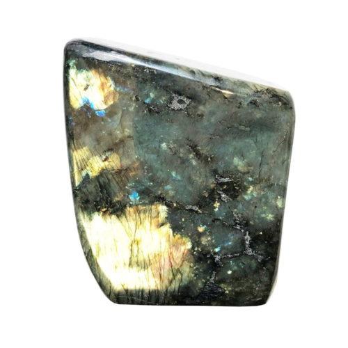 pierre brute labradorite