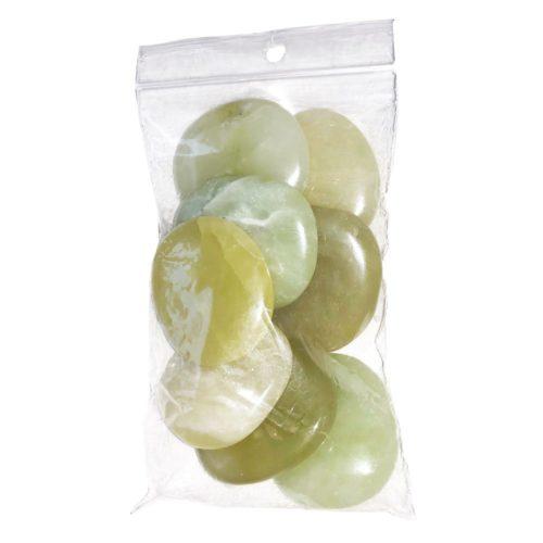 Green Jade Pebble