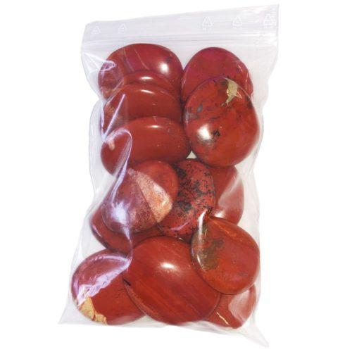Bag of Red Jasper Pebbles