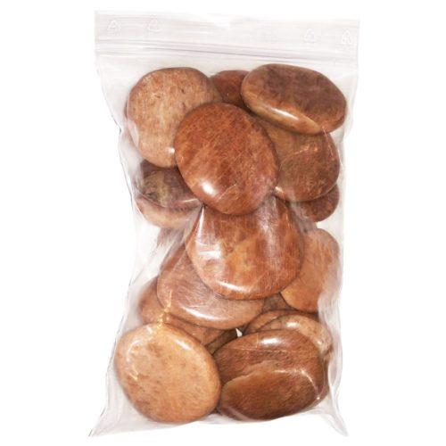 orange-moonstone-pebbles