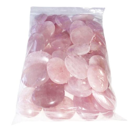 Bag of Pink Quartz Pebbles