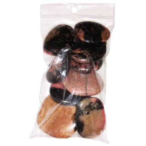 rhodonite-pebbles