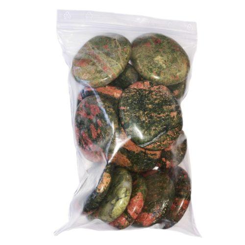 Bag of Unakite Pebbles