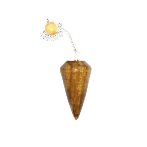 pendule-bois-fossilise-cone