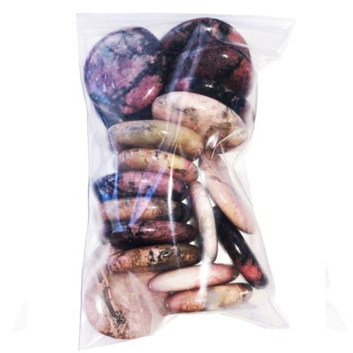 Bag of Rhodonite Pebbles