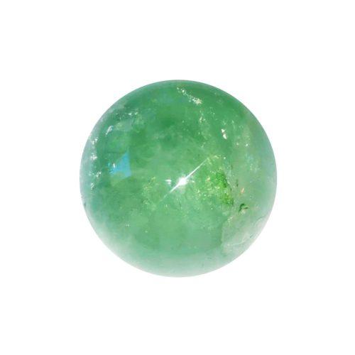 40mm green fluorite sphere