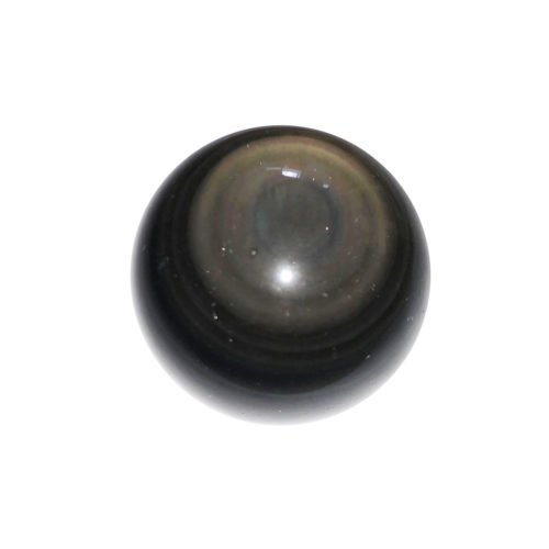 Celestial Eye Obsidian Sphere – 40 mm