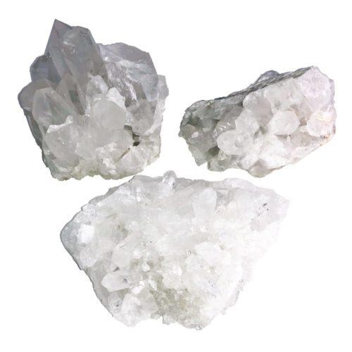 quartz cluster large size
