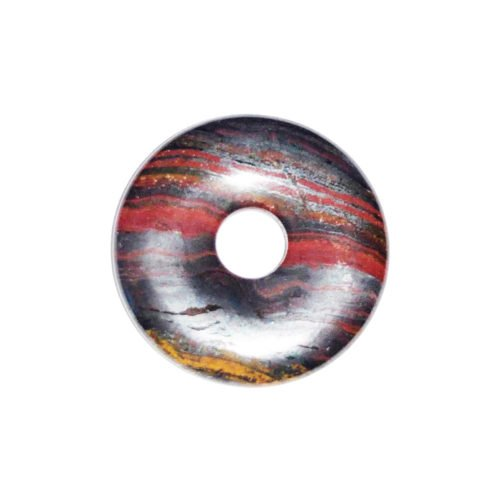 Tiger Iron Chinese Disc or Donut – 20 mm