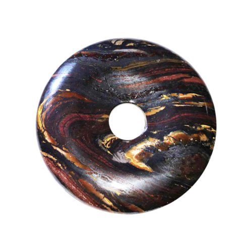 Tiger Iron Chinese Disc or Donut – 40 mm