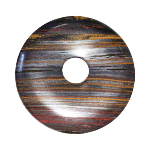 Tiger Iron Chinese Disc or Donut – 50 mm