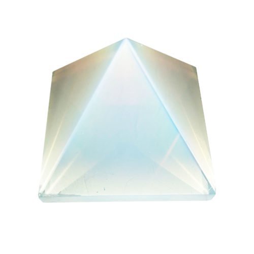 Synthetic Opal Pyramid 60 to 70 mm